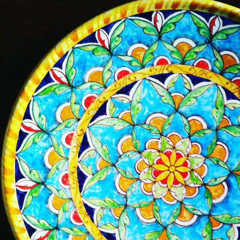Italian Ceramics plates 30,5