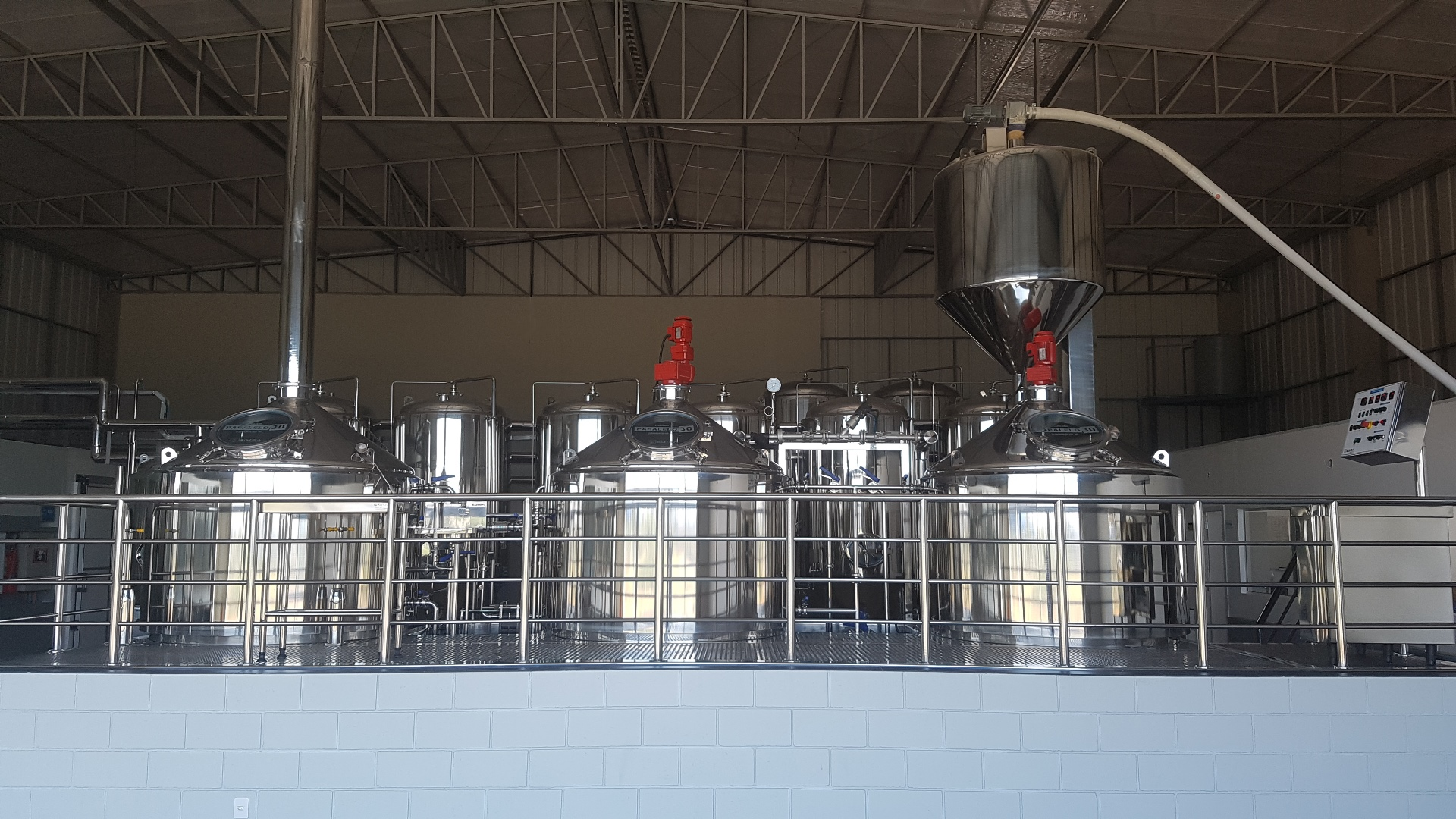 Vista Equipamentos Cervejaria