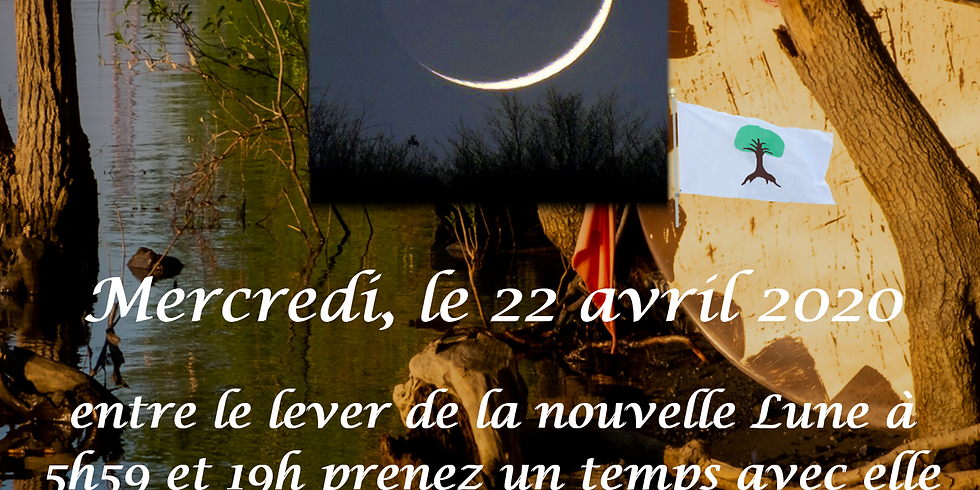 Nous nous rencontrons avec la nouvelle lune
