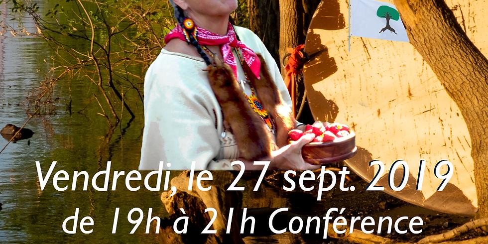 Nous nous rencontrons: Kokom Francine Desjardins et La Mission de Paix 2019