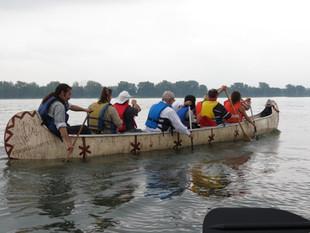 2.1-rabaska Yvan sur le fleuve.JPG