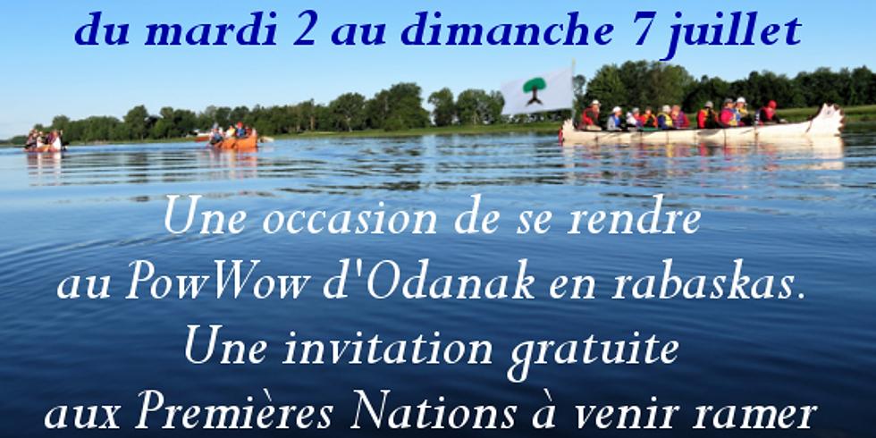 Participation autochtone à La Mission de Paix sur le fleuve Saint-Laurent 2019
