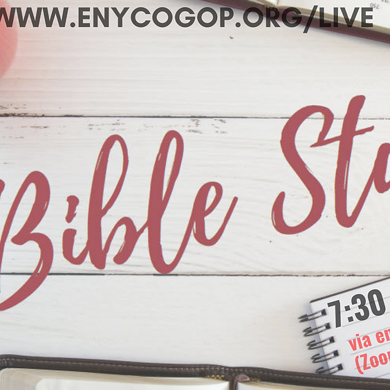 ENY Bible Study ( Do you know your Bible)