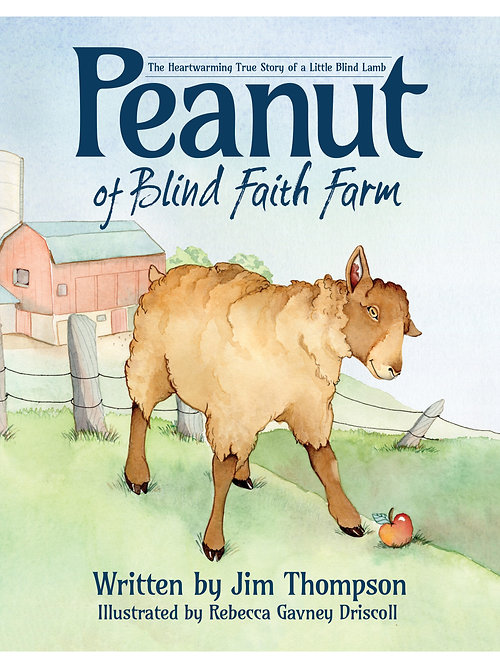 Picture book by Jim Thompson Peanut the Lamb