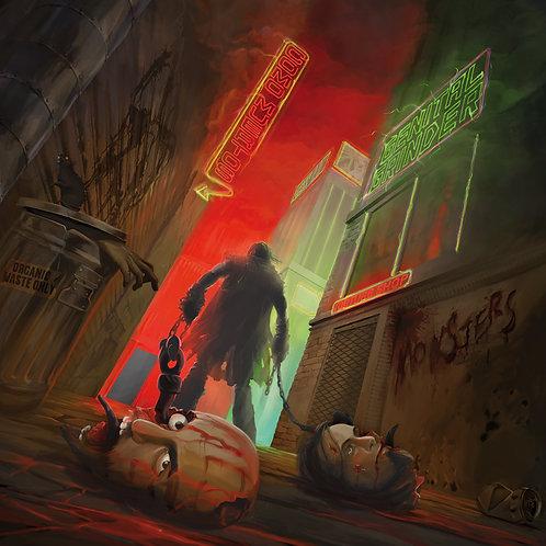 COMO MUERTOS & GENITAL GRINDER - Split [LP]