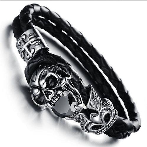 DARK Bracelet - Skull & Gem