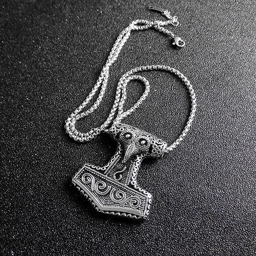 VIKING Necklace - Thor Hammer