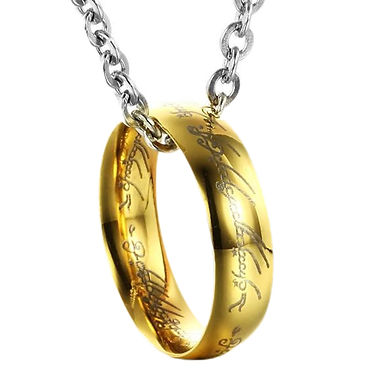 LOTR [Lord Of The Rings] Necklace - The One Ring