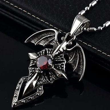 DARK Necklace - Vampire Wings