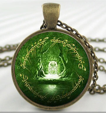 LOTR [Lord Of The Rings] Necklace - Moria Door