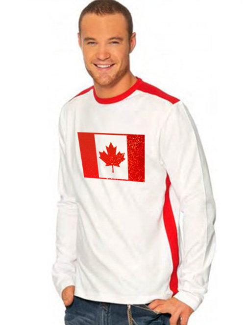 Tee-Shirt à manches longues Canada Fashion