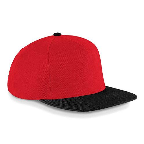 Casquette Hip-Hop Snapback bicolore