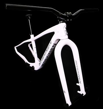 carbon fatbike frame