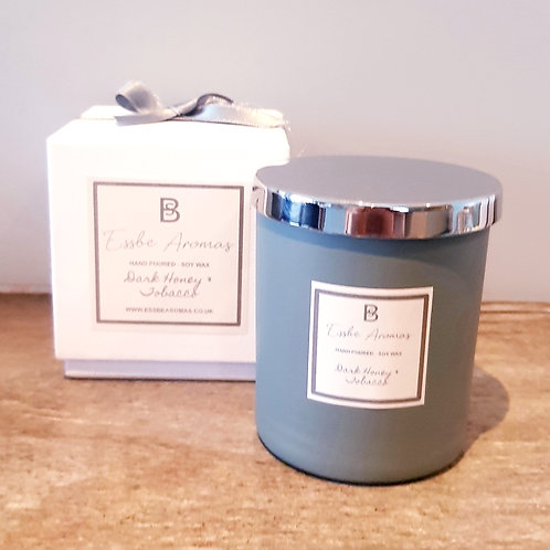 Dark Honey & Tobacco - Small 170g Jar Candle