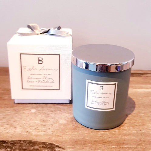 Damson Plum, Rose & Patchouli - 170g Jar Candle