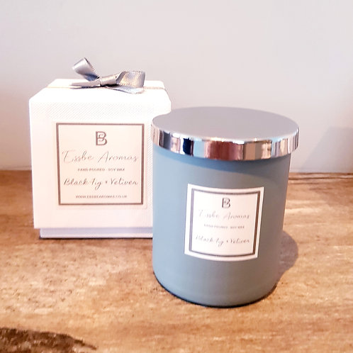 Black Fig & Vetiver - Small 170g Jar Candle