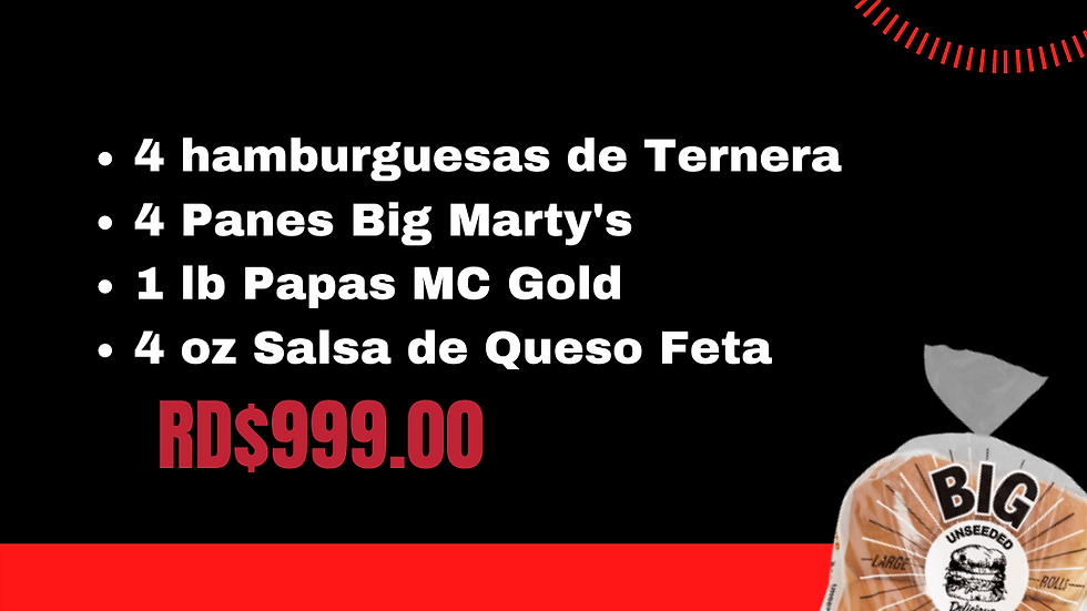 COMBO $999 TERNERA