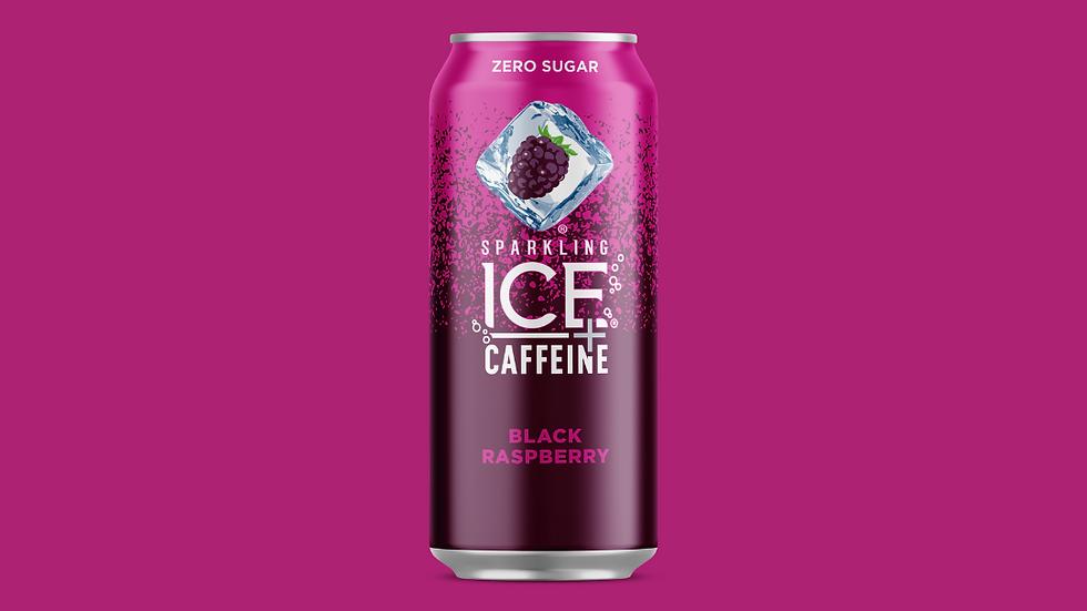 Sparkling ICE + Caffeine Black Raspberry