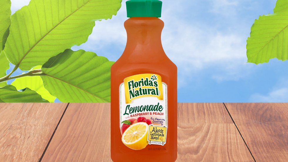 Florida's Natural Limonada con Frambuesa & Durazno