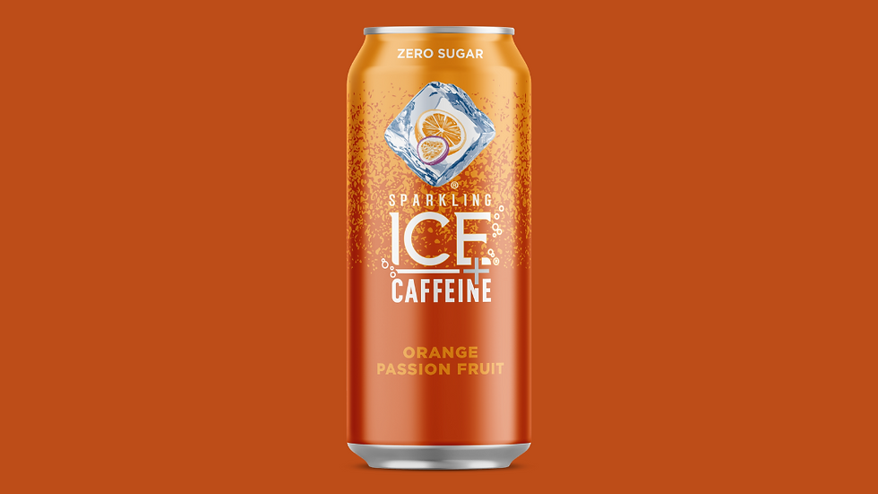 Sparkling ICE + Caffeine Orange Passion Fruit