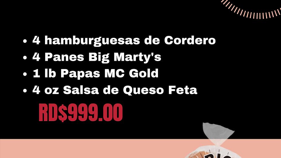 COMBO $999 CORDERO