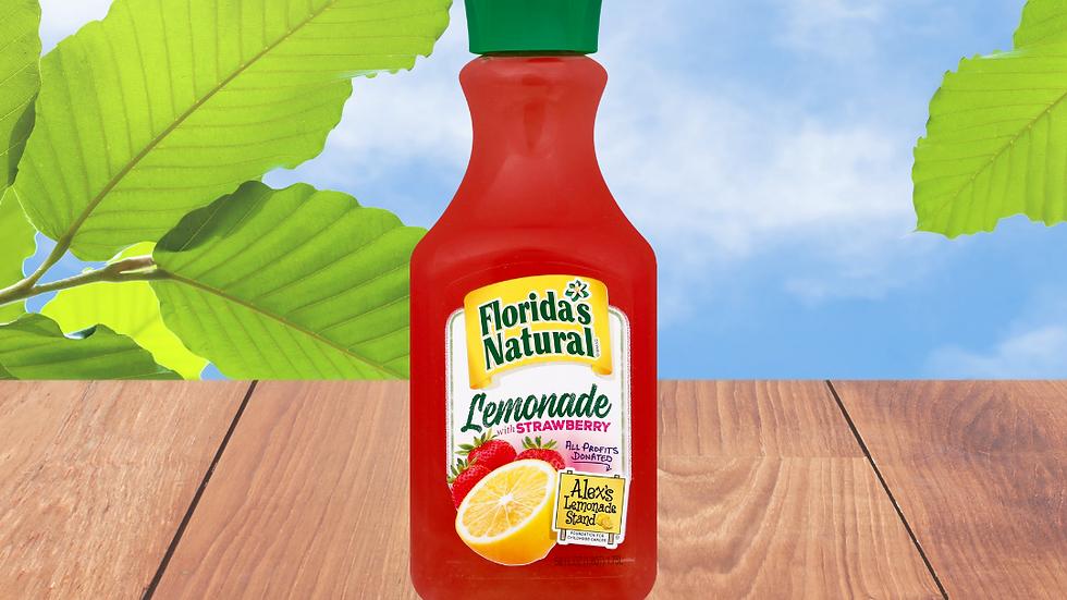 Florida's Natural Limonada con Fresa