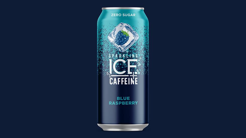 Sparkling ICE + Caffeine Blue Raspberry