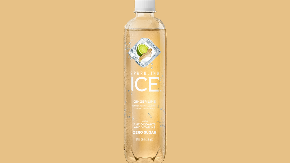 Sparkling ICE Ginger Lime