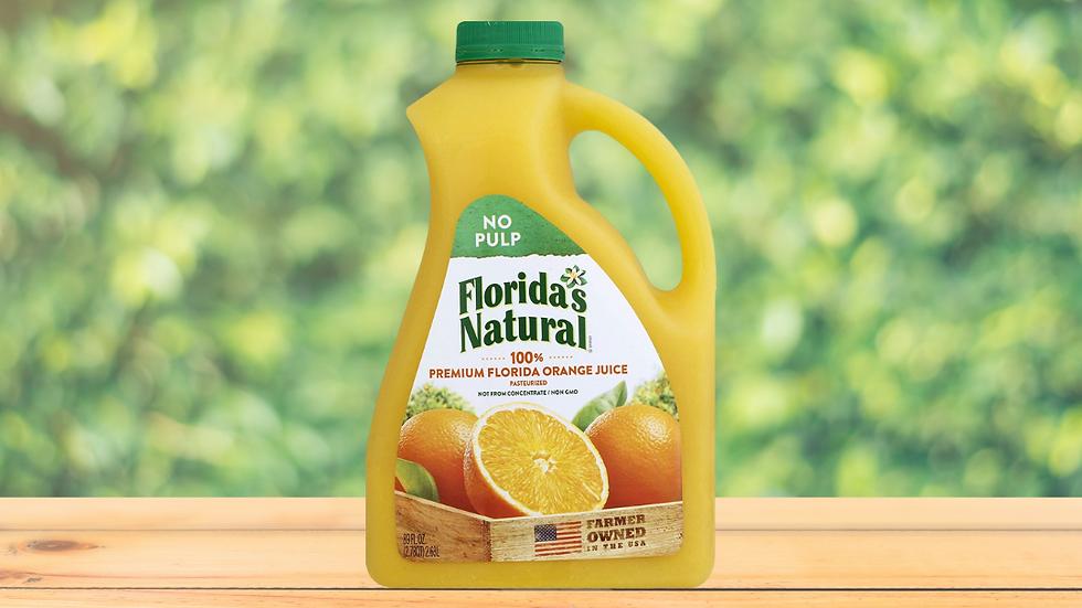 Florida's Natural Jugo Naranja sin Pulpa