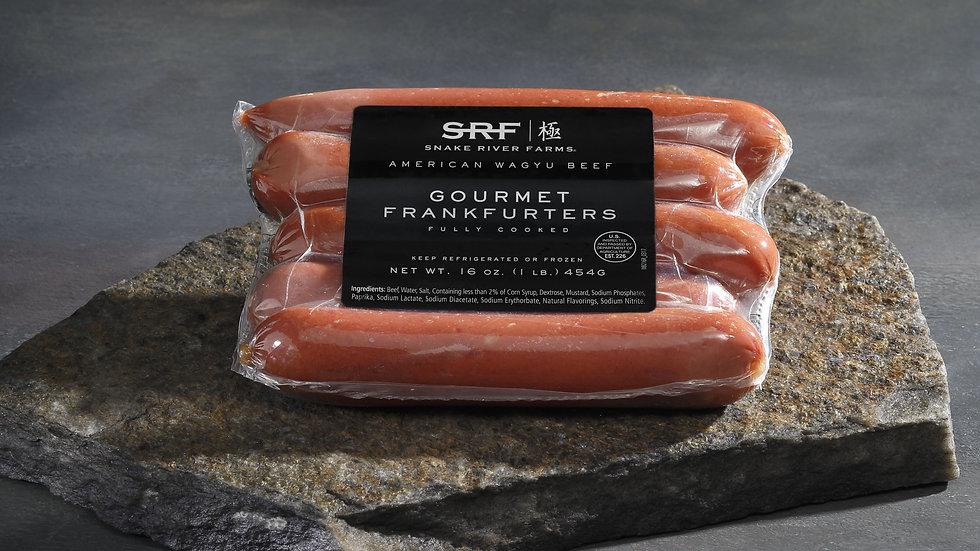 SRF Wagyu Salchichas Hot Dog paq. 5 unid