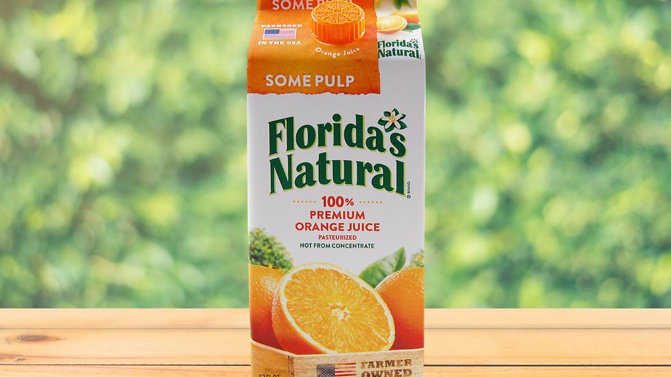 Florida's Natural Jugo Naranja con Pulpa