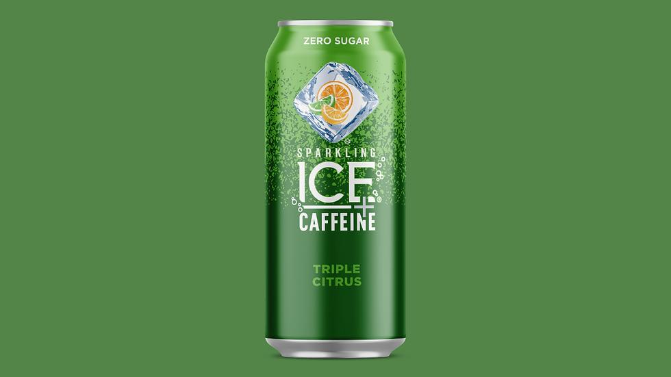 Sparkling ICE + Caffeine Triple Citrus