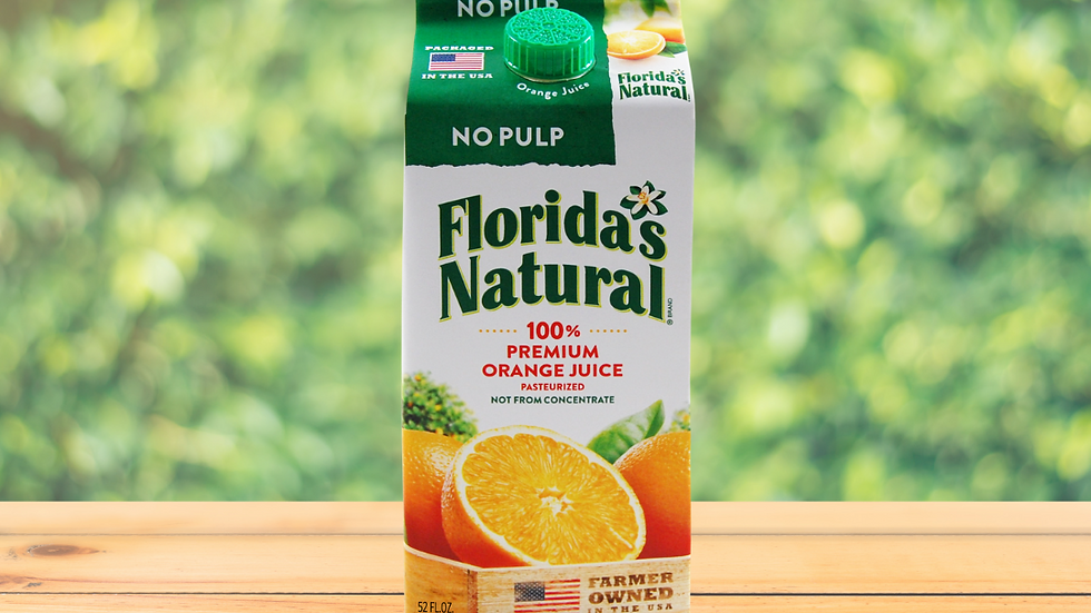 Florida's Natural Jugo Naranja sin Pulpa