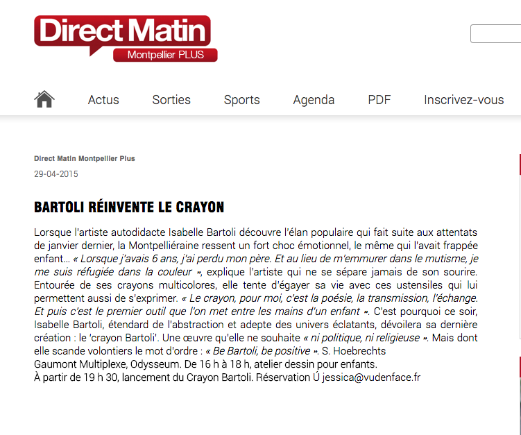 DIRECT MATIN MONTPELLIER