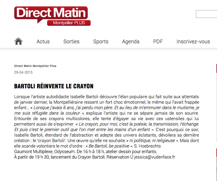 DIRECT MATIN MONTPELLIER