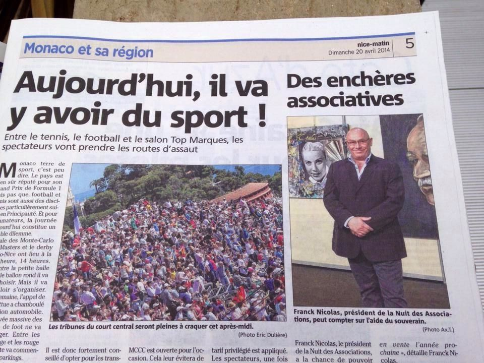 ARTICLE MONACO MATIN