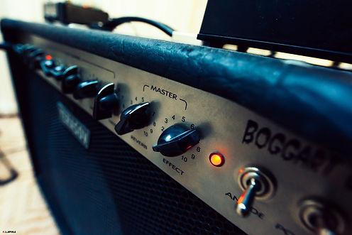 Запись гитар. Реампинг. Ламповые усилители в Тюмени