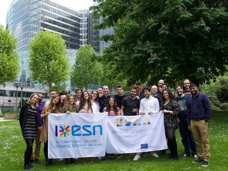EMA volunteers attend ESN UX/UI training in Brussels