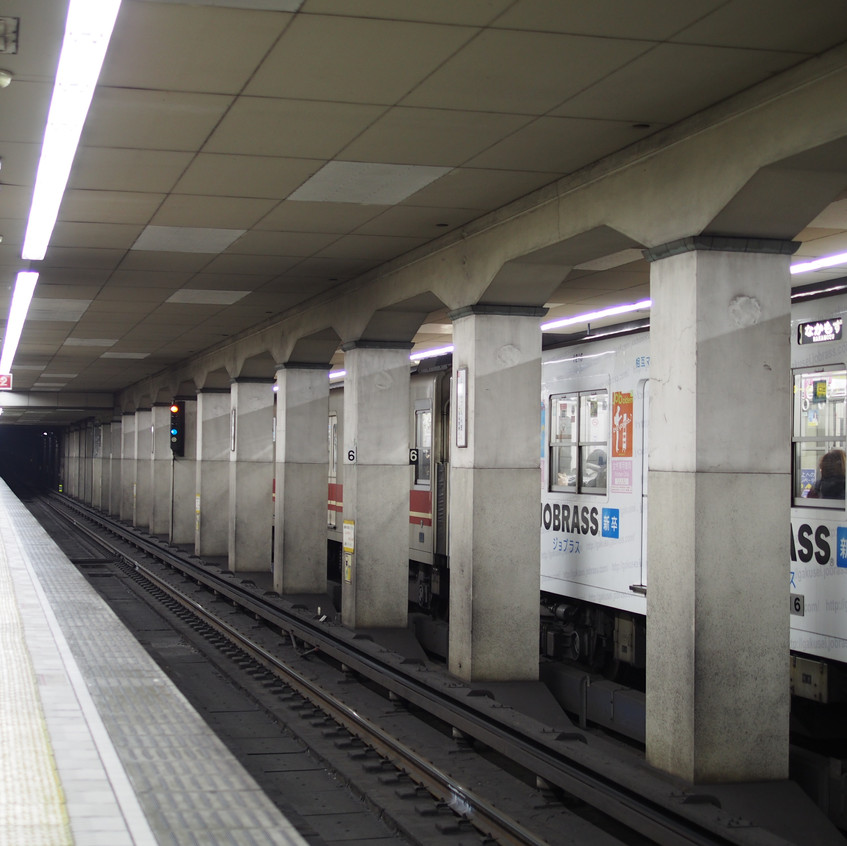 Getting around Japan is fairly easy, especially with the expansive railway system!