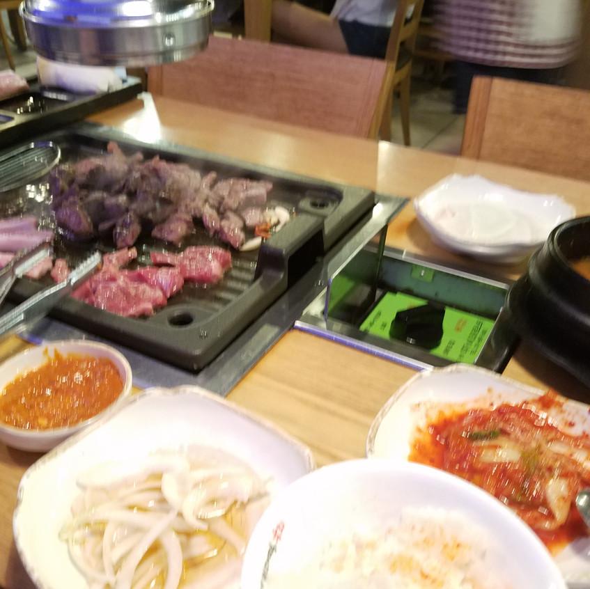 The banchan in Korea is the best!