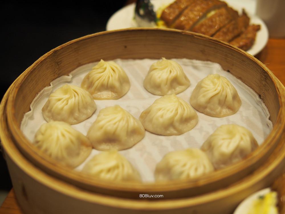 Xiao long bao -  (小籠包 soup dumplings)