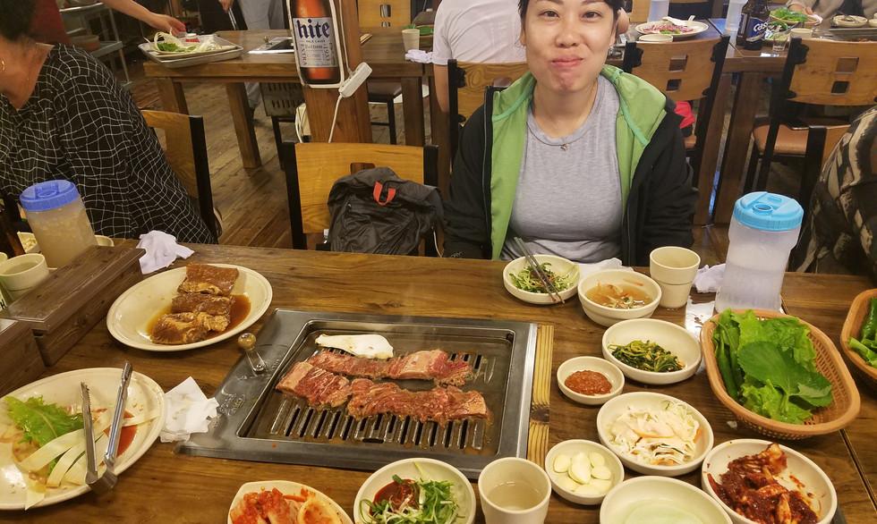 Korean BBQ in Jeju-do
