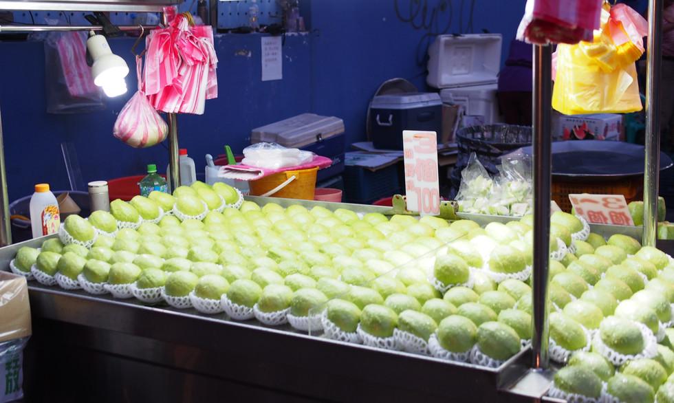 Fruit at a Taiwan night market