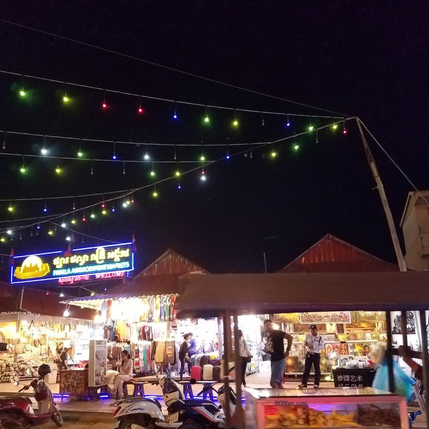 Great market to visit at night