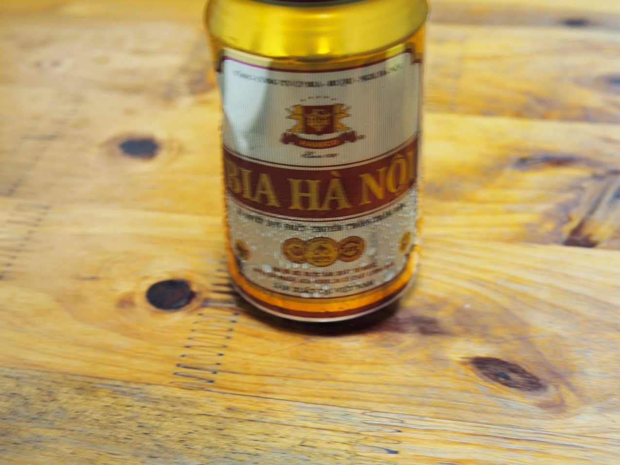 The beer of Hanoi: BIA HA NOI