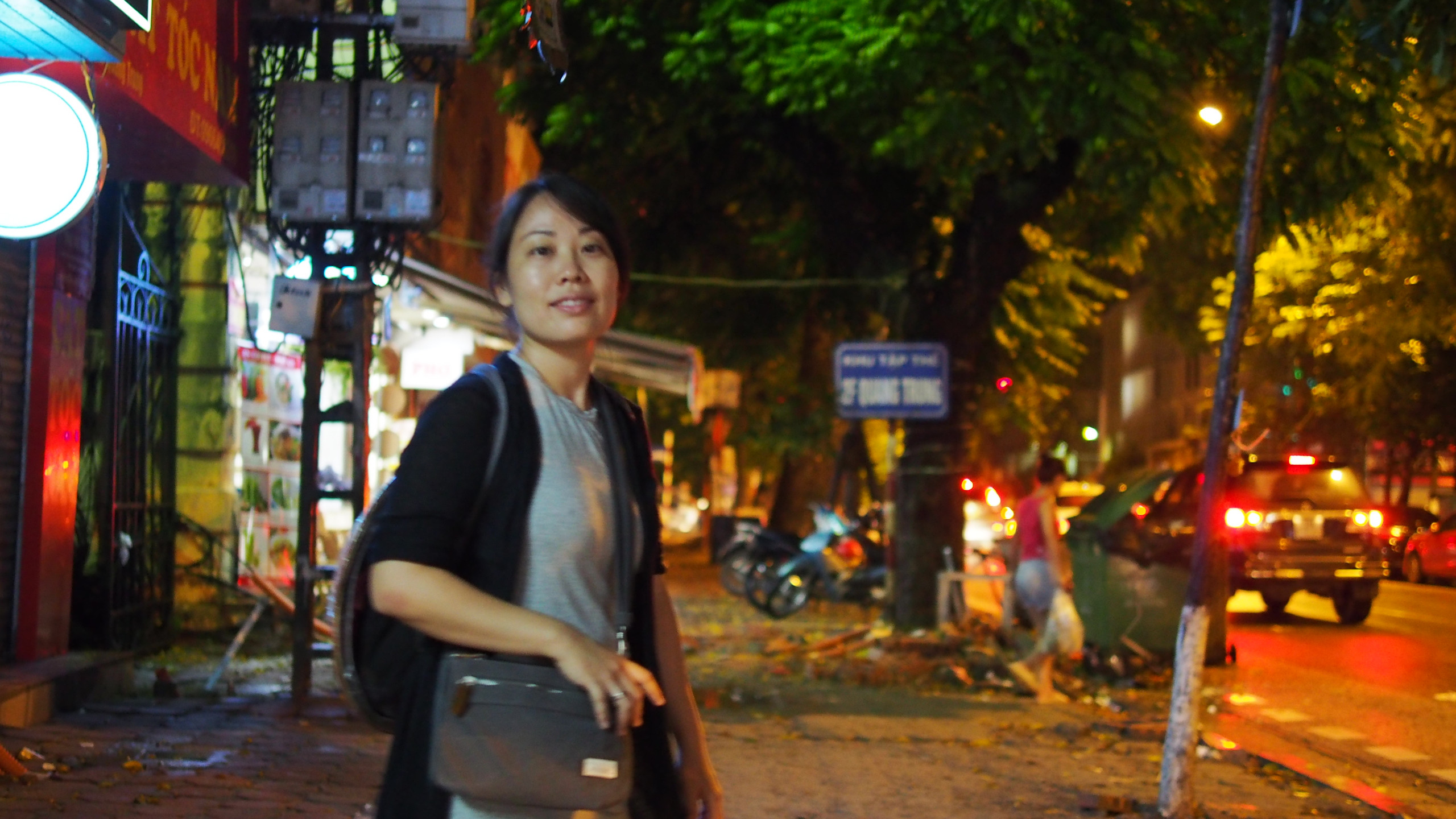 Walking through every part of Hanoi