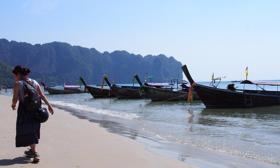 Beach in Ao Nang