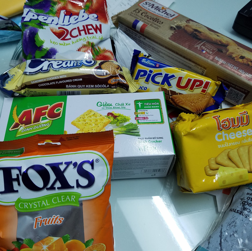 When backpacking having snacks are a must! You never know where or when you will have your next meal.