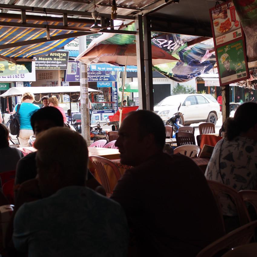 Eating at Siv Long