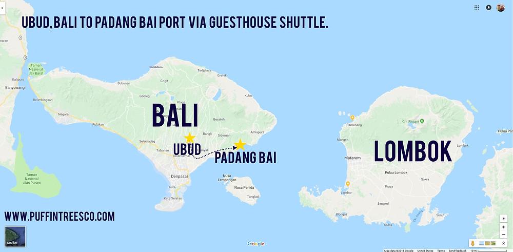 Gettin off Bali.